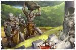 Attaque des géants de pierre