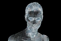 Statue de glace